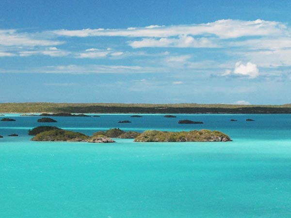 Chalk Sound - Turks and Caicos Taxi Tours